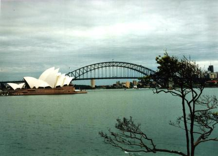 Sidney harbourbridge en opera